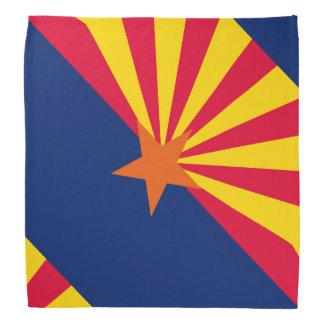 Design da bandeira do estado da arizona pano para cabeça