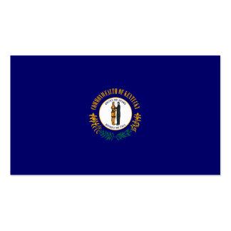 Design da bandeira do estado de Kentucky Cartão De Visita