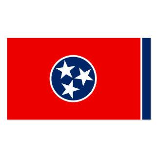 Design da bandeira do estado de Tennessee Cartão De Visita