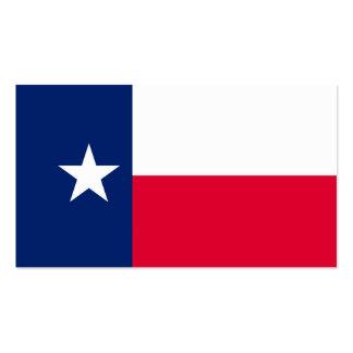 Design da bandeira do estado de Texas Cartão De Visita