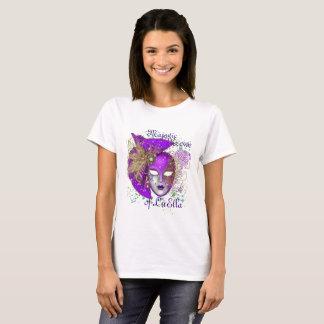 Design da camiseta de Krewe do carnaval