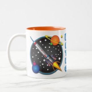 Design da caneca do insecto de Saturn