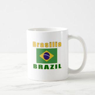 Design da capital de Brasília Brasil Caneca
