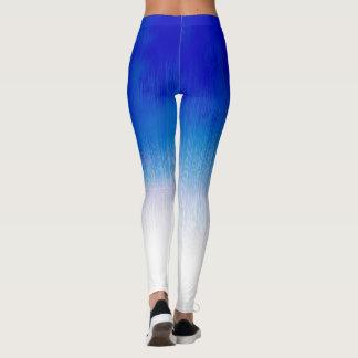 Design da chuva do gelo dos azuis marinhos da leggings