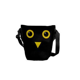 Design da coruja bolsas mensageiro