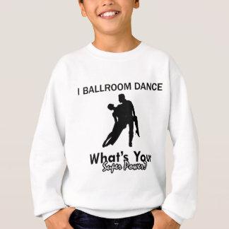 Design da dança de salão de baile agasalho