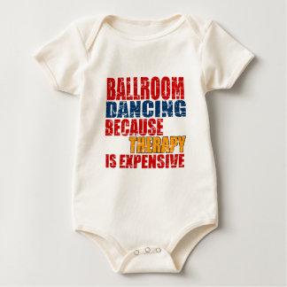 Design da dança de salão de baile body para bebê