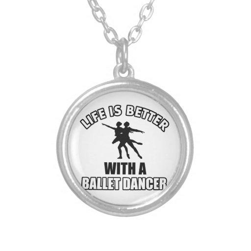 Design da dança do balé bijuteria personalizada