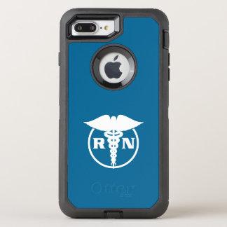 Design da enfermeira diplomada capa para iPhone 7 plus OtterBox defender