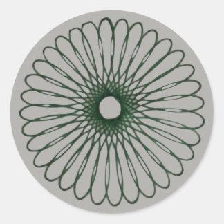 Design da etiqueta do Spirograph #1
