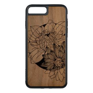 design da flor das capas de iphone
