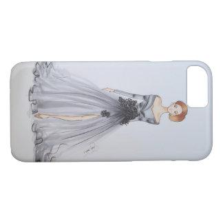 Design da forma no cinza capa iPhone 7