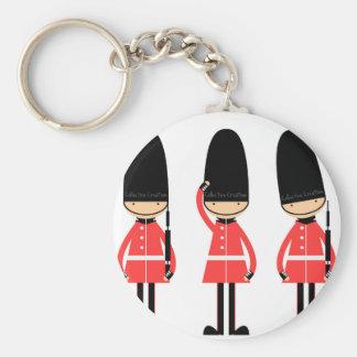 Design da guarda de Inglaterra Londres Chaveiro
