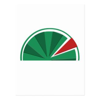 design da melancia cartão postal