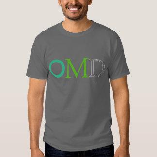 Design da mente aberta de OMD Camiseta