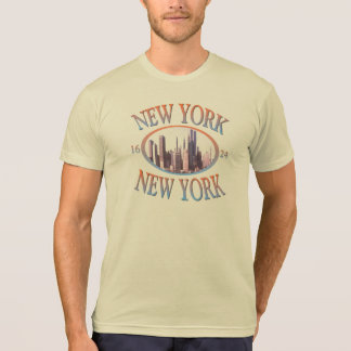 DESIGN DA NOVA IORQUE CAMISETA