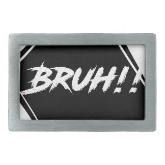 """Design da palavra de """"Bruh"""""""