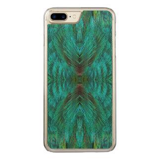 Design da pena do caleidoscópio capa iPhone 8 plus/ 7 plus carved