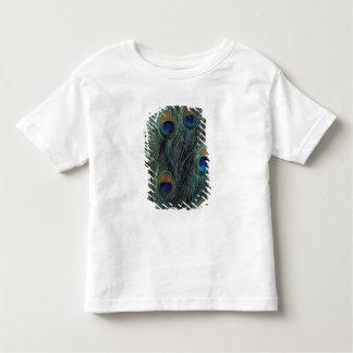 Design da pena do pavão camisetas