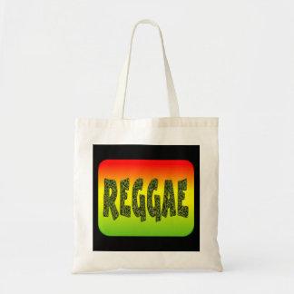Design da reggae bolsa para compras