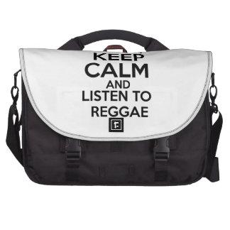 Design da reggae mala para laptop