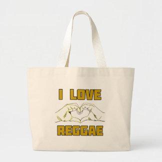 design da reggae bolsa tote grande