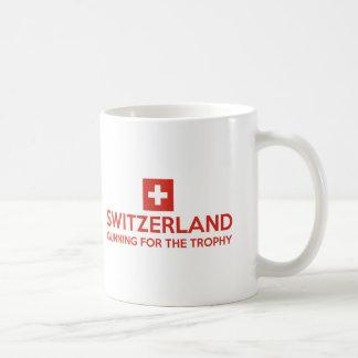 Design da suiça caneca de café