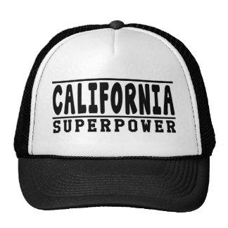 Design da superpotência de Califórnia Boné