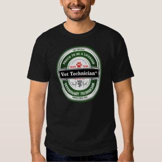 design da tecnologia do veterinário sexta-feira à camiseta
