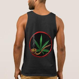 Design da tubulação do cannabis/marijuana/pote por regatas