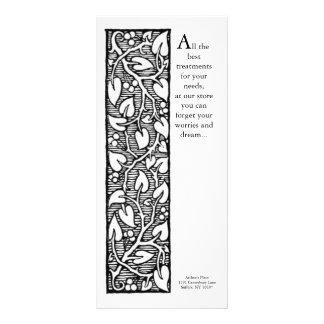 Design da videira das artes e dos artesanatos 10.16 x 22.86cm panfleto
