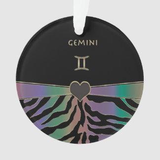 Design da zebra do arco-íris dos Gêmeos do sinal