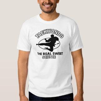 Design das artes marciais de Taekwondo T-shirt