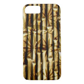 Design de bambu capa iPhone 7