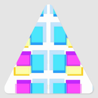 Design de blocos feminino de Babysoft na base Adesivo Triangular