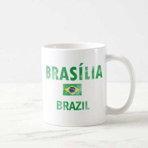 Design de Brasília Brasil Caneca