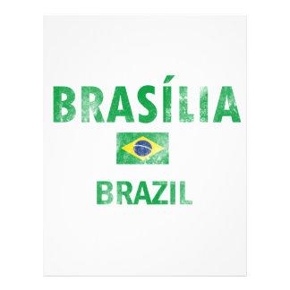 Design de Brasília Brasil Papéis De Carta Personalizados