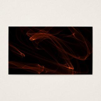 Design de cartões de visitas 3 da chama
