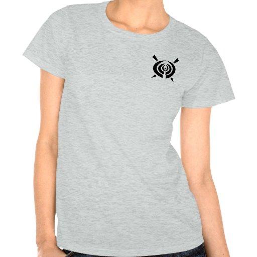 Design de confecção de malhas inspirado tribal camiseta