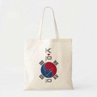 DESIGN de COREIA de Alá de K-POP Bolsa Tote
