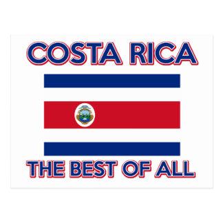 Design de Costa Rica Cartão Postal