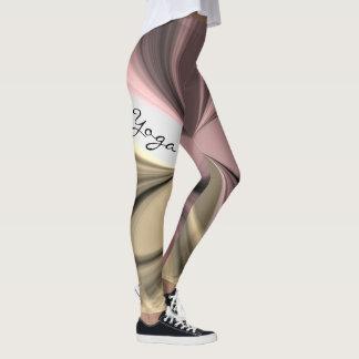 Design de exercício cor-de-rosa da ioga do legging