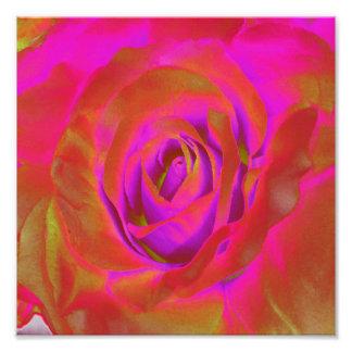 Design de florescência do bulbo das flores impressão de foto