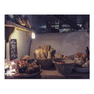 Design de interiores da padaria do vintage e da cartão postal