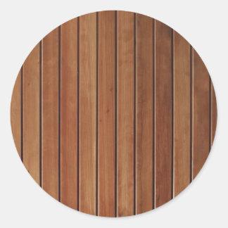 Design de madeira da parede, textura adesivo