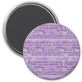 Design de papel roxo velho da contagem musical ima