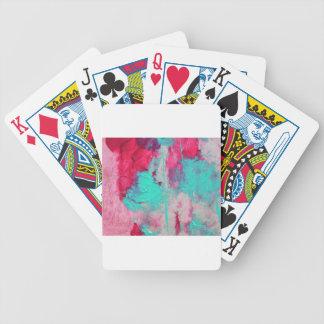 Design de travamento do olho moderno na moda baralho para poker