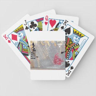 Design de travamento do olho moderno na moda baralho para pôquer