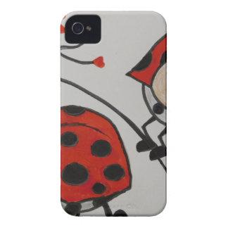 Design de travamento do olho moderno na moda capa para iPhone 4 Case-Mate