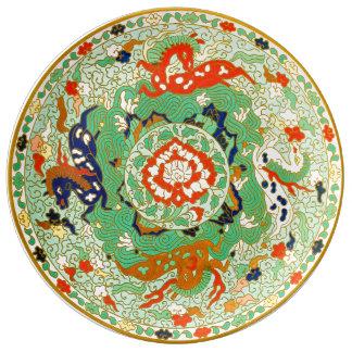 Design decorativo chinês louça